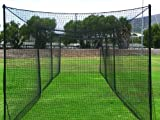 Ultimate 20' Baseball Batting Cage [Net & Poles Package] - #42 Heavy Duty Net with Steel Uprights [Net World] 24hr Ship