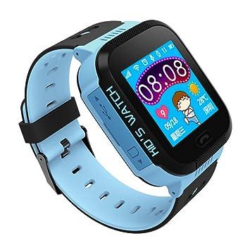 per Montre Connectée Smartwatch Enfant GPS Tracker Montre Intelligente avec Caméra Bracelet-Montre avec Lampe
