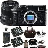 Fujifilm X-Pro2 Body + 23mm F2 R Lens (Black) Batteries & Memory Card Bundle