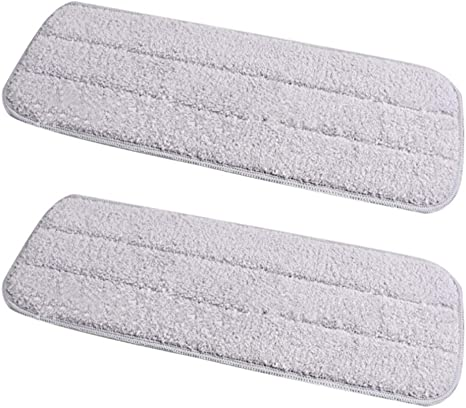 Ketuan Steam Mop Pads Replacement Accessories for Deerma Tb500 Spray Water Mop Swivel 360 Cleaning Cloth 360X135MM (4 Packs)