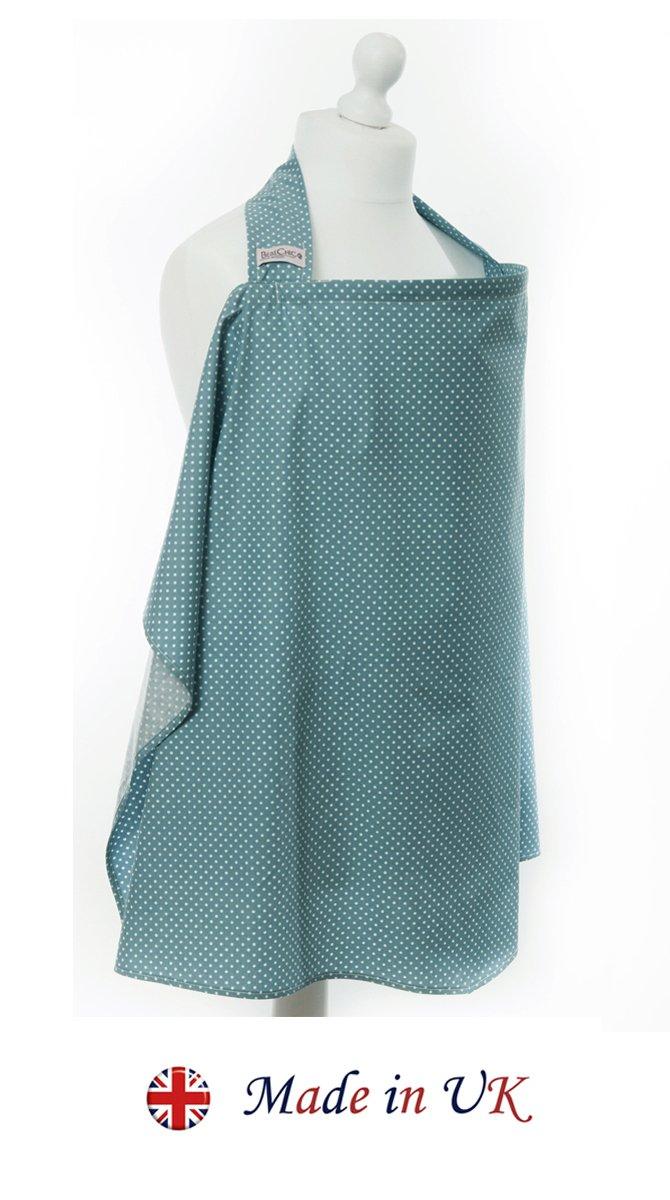 Stillen Abdeckung mit Entbeinen BebeChic Aufbewahrungstasche * wei/ß punkt thymian gr/ün Top-Qualit/ät aus 100/% Baumwolle