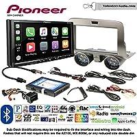 Volunteer Audio Pioneer AVH-2440NEX Double Din Radio Install Kit with Apple CarPlay, Android Auto and Bluetooth Fits 2010-2015 Chevrolet Camaro
