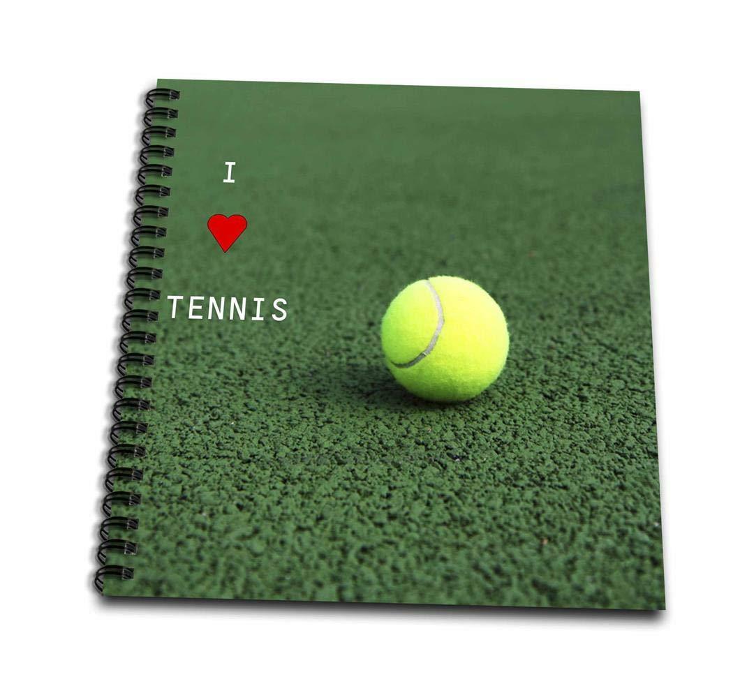 3dRosa DB 50212 _ 1 I Love Tennis-Drawing Buch, 8 von 20,3 cm B00BA340C0  | Bunt,
