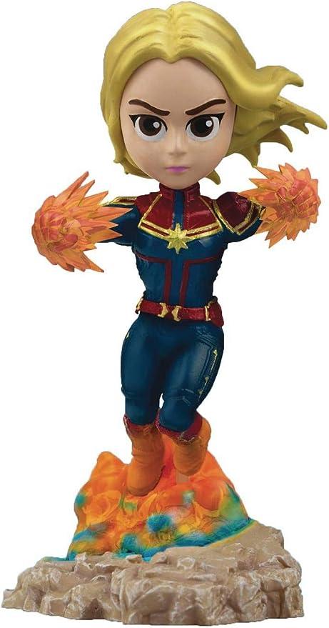 Beast Kingdom Toys Figura Capitana Marvel 10 cm. Vengadores ...