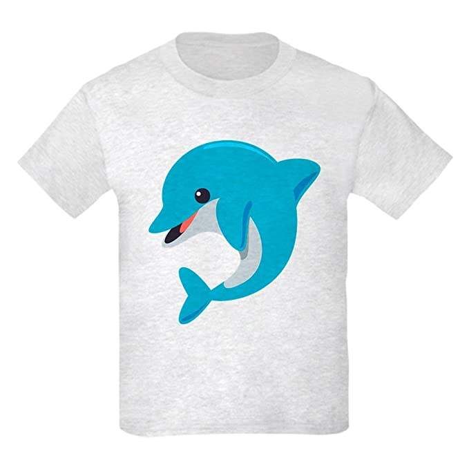 f2b35c26fab Amazon.com: CafePress Dolphin T-Shirt Youth Kids Cotton T-Shirt ...