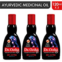Dr Ortho Pain Relief Oil - 120 ml (Pack of 3)