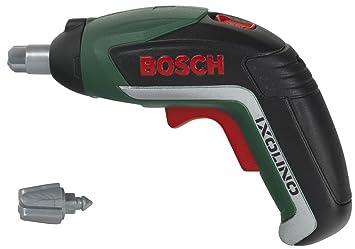 Theo Klein-8300 Bosch Ixolino II Atornillador con Acumulador, 2 Pilas R03-AAA (Mirco), Juguete, (8300)