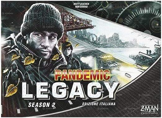 Asmodee- Pandemic Legacy Season 2 Negro, Juego de Mesa, Color, 8393: Amazon.es: Juguetes y juegos