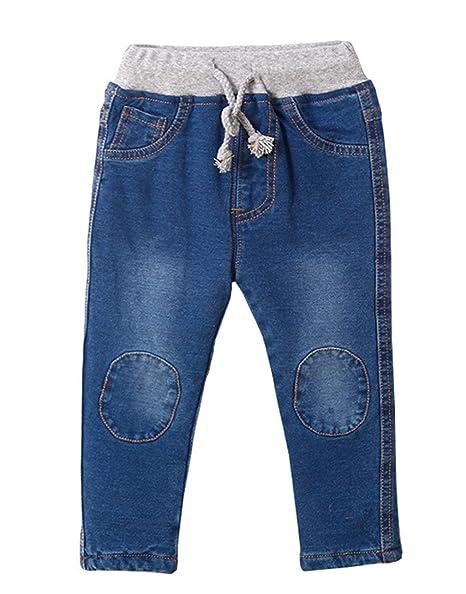 Amazon.com: PoonStyling - Pantalones vaqueros de forro polar ...
