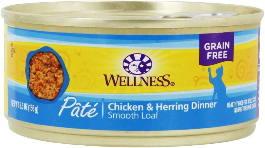 Wellness Chicken & Herring Canned Cat 5.5oz