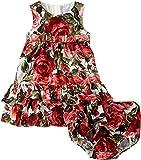 Dolce & Gabbana Kids Baby Girl's Zambia Shirt/Shorts Set (Infant) Rose Print Dress