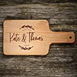 P Lab Personalized Cutting Board, Custom Engraved Natural Wood Cutting Board, Christmas Gift, Wedding Gift, Anniversary Gift, Housewarming Gift, Corporate Gift (6