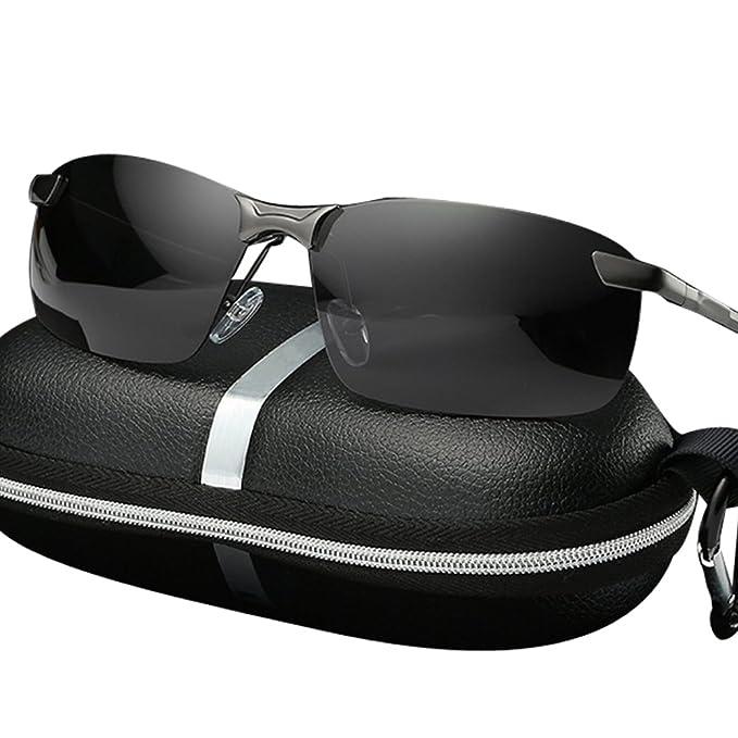 3a9122a333e Amazon.com  Unbreakable Sports Driving Polarized Sunglasses for Men ...
