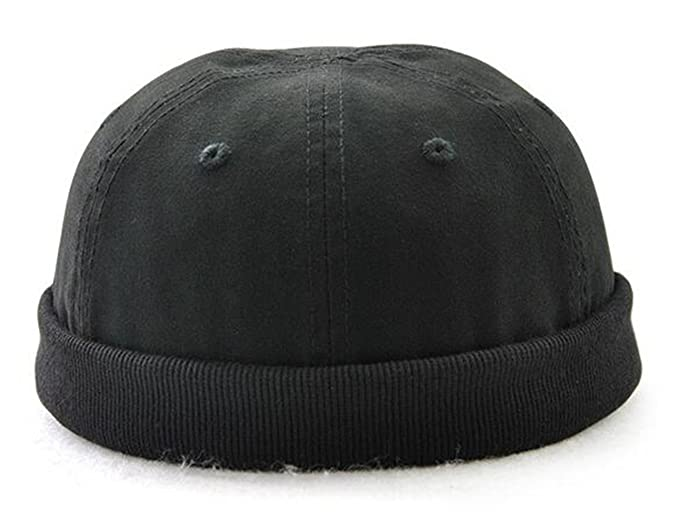 Amazon.com  Melii Cotton Kufi Hats Skull Docker Cap Solid For Men ... 0d15a161b2bf