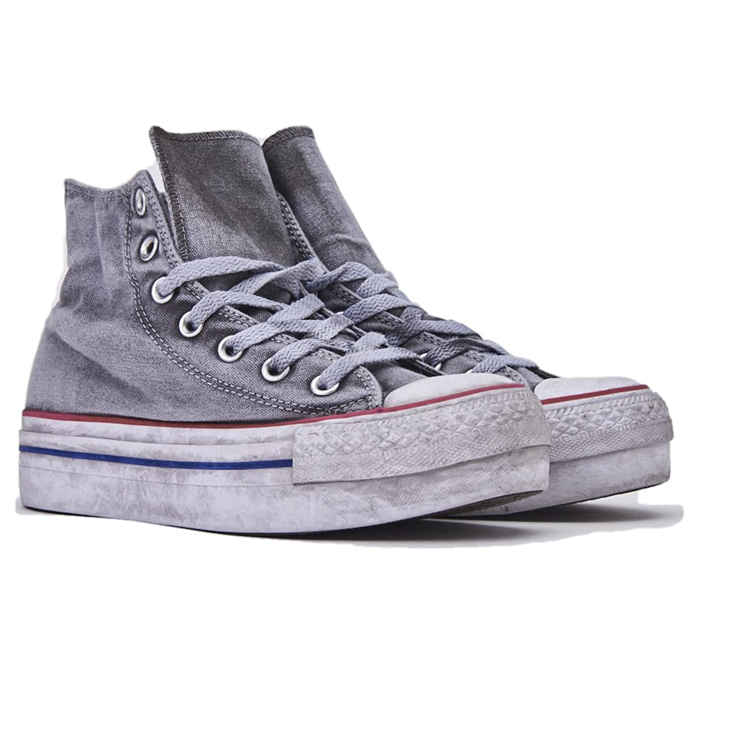 Converse Limited Edition All Star Platform Smoke Sneakers Donna Chuck  Taylor Ltd 558453C/WHITE Smoke, Nuova Collezione Primavera Estate 2018:  Amazon.co.uk: ...