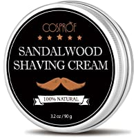 Cosprof Shaving Cream - Men's Facial Beard Shaving Cream Barbering Shave Tool Shaving Soap,3.2 oz