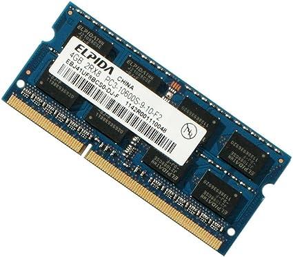 4GB DDR3-1333 PC3-10600S 2Rx8 DDR3 SDRAM Laptop Memory