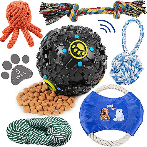 HETOO Dog Toys for Small Chewers - Pet Toys for Dogs Indestructible - Dog Chews Toys - Best Teething Toys for Puppies - Dog Toys for Boredom-Dog Rope Toy-Puppy Toys-Dog Toys