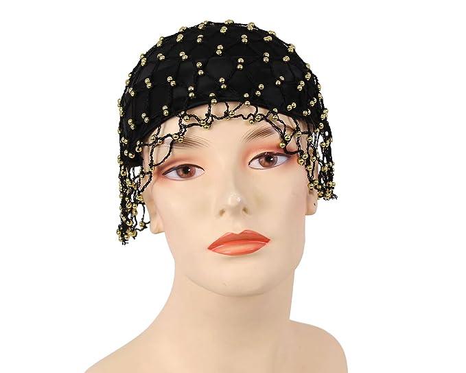 cb513741c7131 Women s Satin Pillbox Church Dress Hat by Ms Divine  H0551(Black Gold)