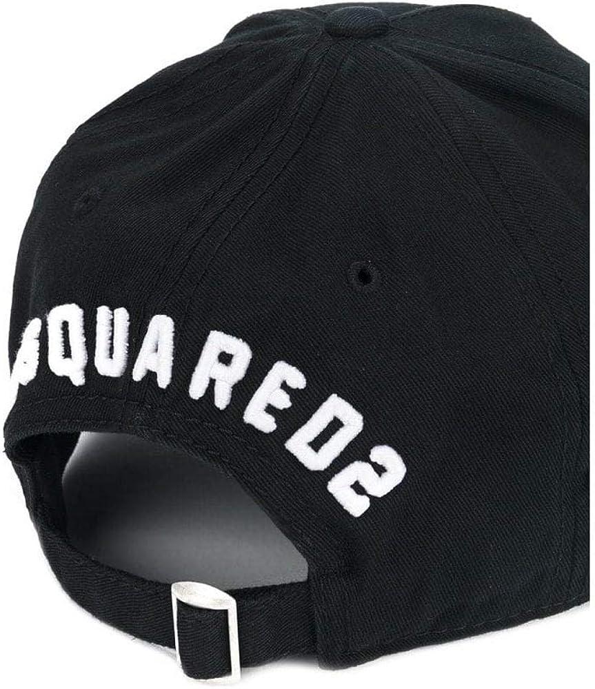 DSQUARED2 Icon - Gorra, Color Negro Negro Negro (Taille Unique ...