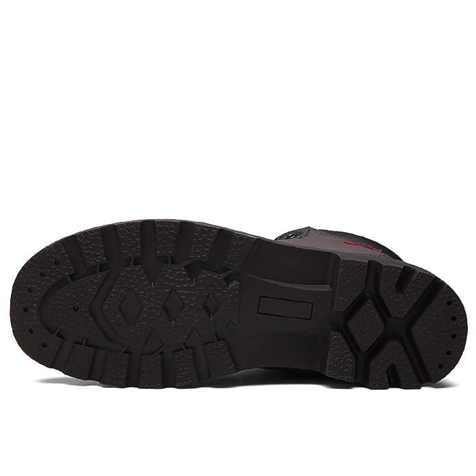 TQGOLD Botas de Nieve para Hombre Otoño Invierno Impermeable Botas Calentitas: Amazon.es: Zapatos y complementos