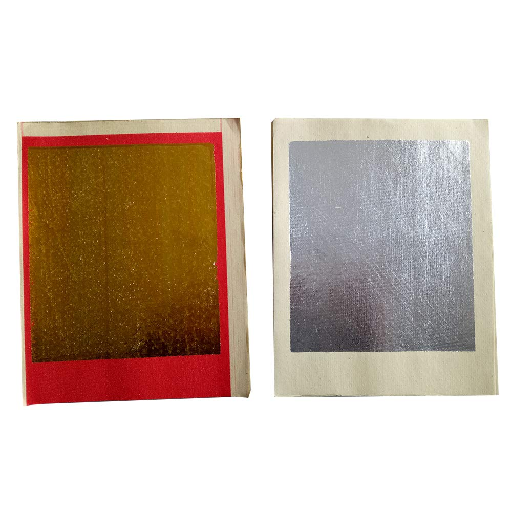ZeeStar Bless Chinese Joss Paper - Ancestor Gold and Silver Foil - Plain Brown Money Holder for Ancestral Worship 90 PCS