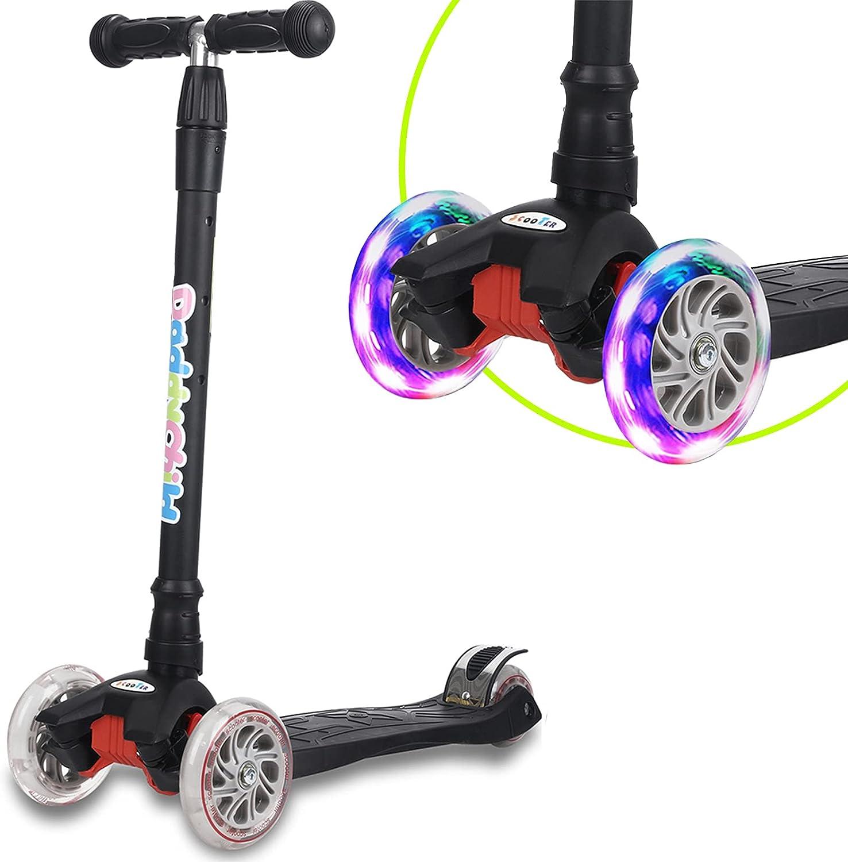 Scooter Enfants Kickscooter Scooter Ab 3 Années Jusqu/'À 60 KG Fille Jeune 10329