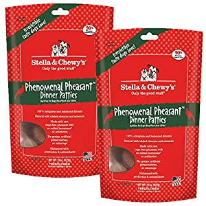 Stella & Chewy's Pheasant Dog Food Dinner, 15-Ounce / 2 Pack