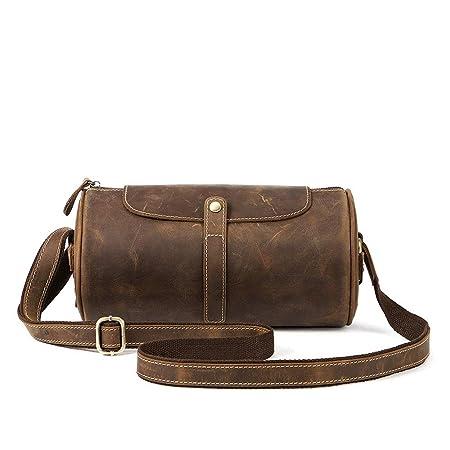 8b7c209aa8b6 Romanticsmy Casual Crossbody Handbags Shoulder Bag Men s Leather Shoulder  Messenger Bag Crossbody Day Bag Satchel Bag