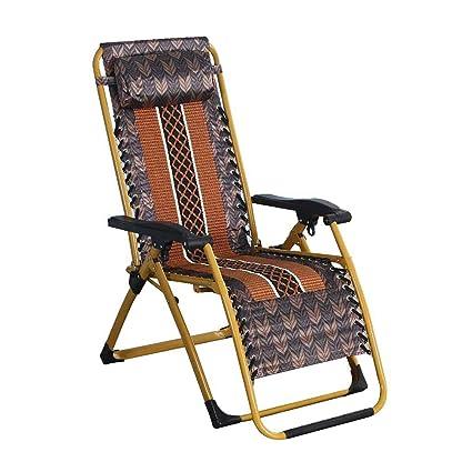 Amazon.com: Silla reclinable plegable de seda de hielo para ...