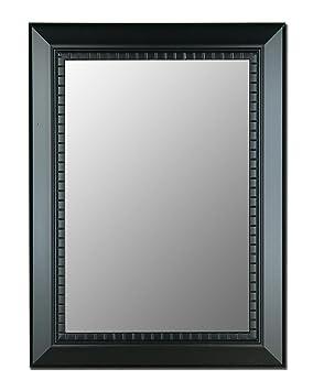 Oiled Ebony Decorative Wall Mirror