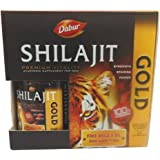 Dabur Shilajit Gold   20 Capsules with Free Shila X Oil, 20ml available at Amazon for Rs.350