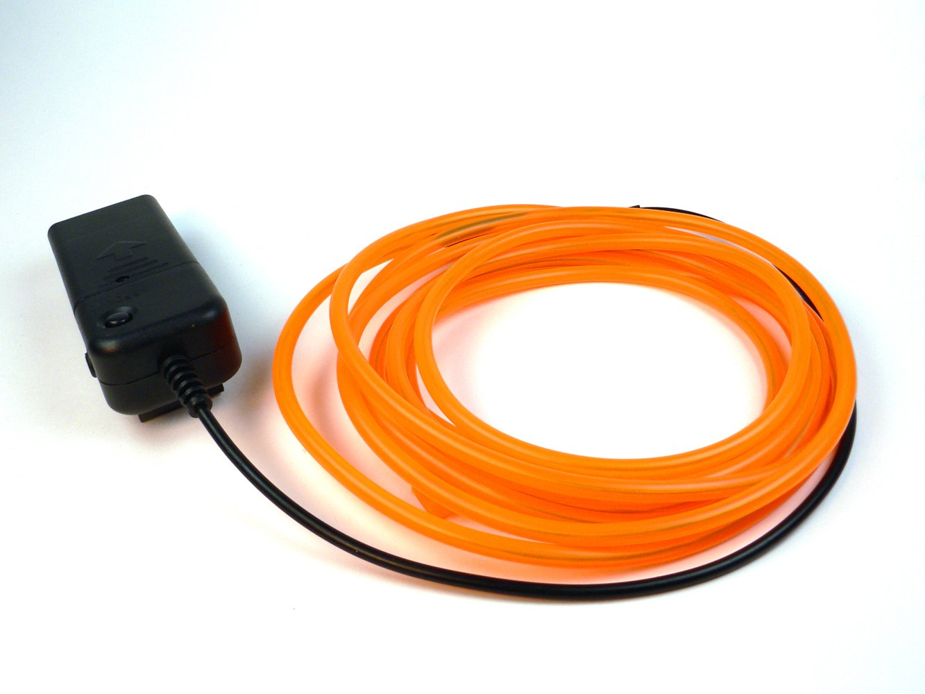Fortune Products ELFW-3.2-3O Electroluminescent Flash Wire, 3.2mm Diameter x 3 yd Length, Orange