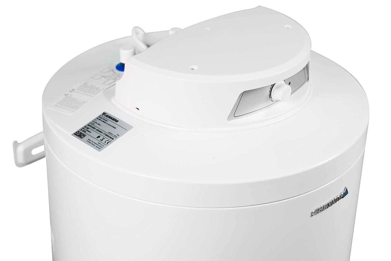 Calentador de Agua Horizontal Junkers Grupo Bosch Termo Electrico 100 litros Resistencia Ceramica 1500w