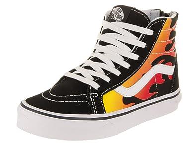 Vans Kids Sk8-Hi Zip (Flame) Skate Shoe  Amazon.com.au  Fashion de220acb2
