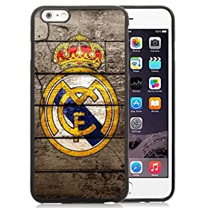 Unique DIY Designed Case For iPhone 6 Plus 5.5 Inch With Soccer Club Real Madrid 05 Football Logo Cell Phone Case