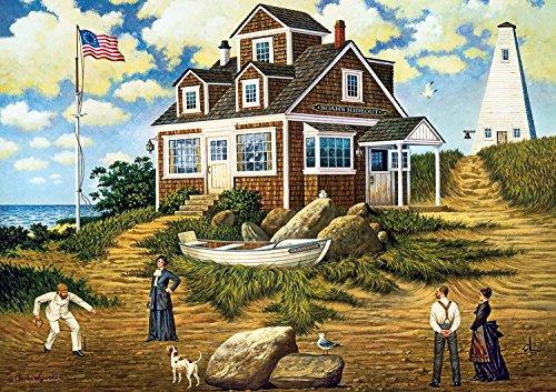 Buffalo Games - Charles Wysocki - A Delightful Day on Sparkhawk Island - 300 Large Piece Jigsaw Puzzle