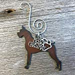 BOXER Christmas Ornament, Dog Lover Gift, Gift for Dog Mom, Pet Memorial, Dog Lovers Gifts 3
