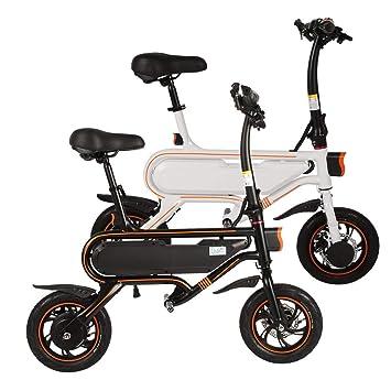 Bicicleta eléctrica Pedelec 12 pulgadas plegable E-Bike Roller con aplicación de ajuste de velocidad