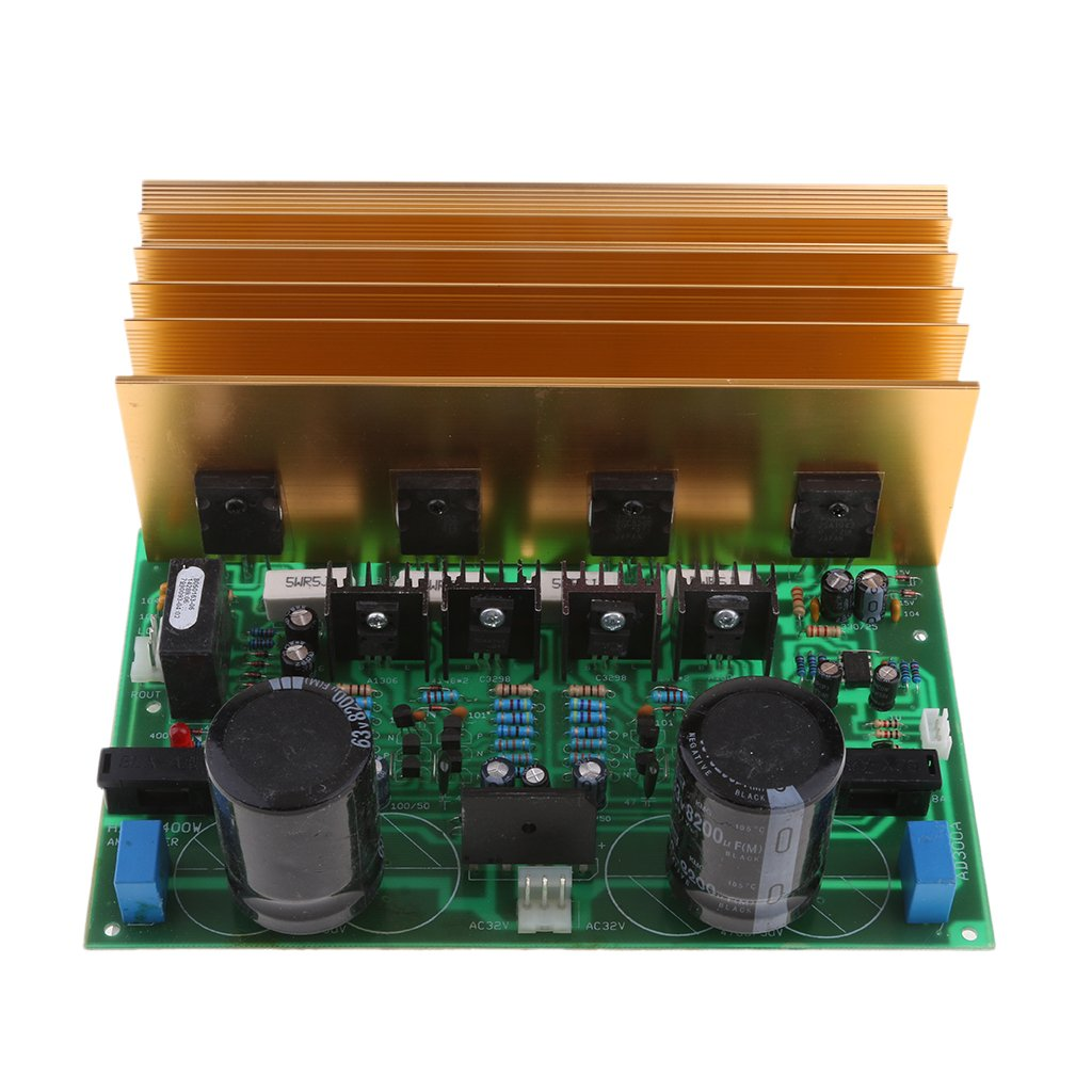 MagiDeal AD-300 Dual Channel HIFI Stereo Amplifier Board 24V Low Noise Enhanced Version for Car Audio, Motorcycle Audio And Home Theater by MagiDeal