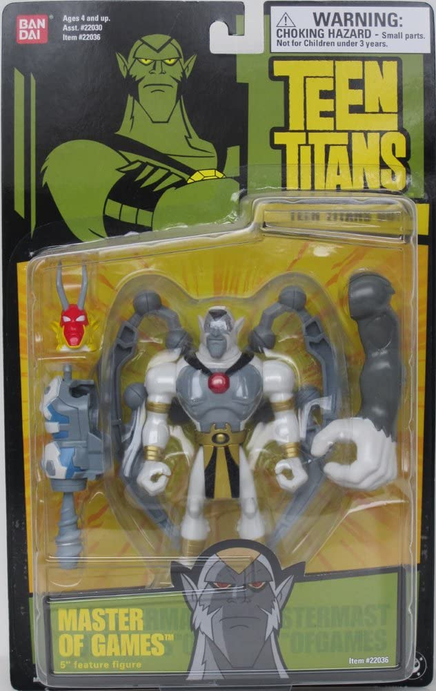 "B0006FU4BY Teen Titans 5"" MASTER OF GAMES Action Figure - BANDAI 61PbWrQzWyL"