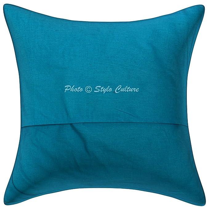 Amazon.com: Stylo Culture - Juego de 5 fundas de almohada ...