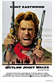 "The Outlaw Josey Wales Movie Poster 24""x36"" (33.02 x 48.26 cm) This is a Certified Poster Office Print with Holographic Sequential Numbering for Authenticity."