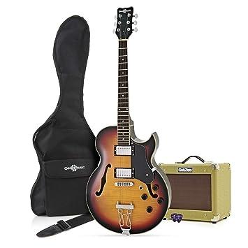 Guitarra San Diego Semiacústica + Ampli SubZero V15G - Sunburst