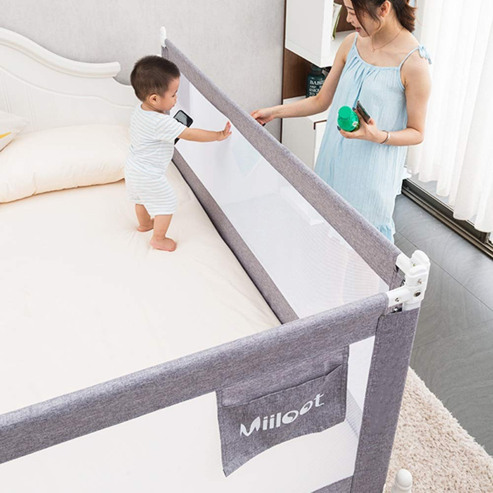 120cm MY1MEY Baby Child Toddler Bed Rails Safety Protection Guard