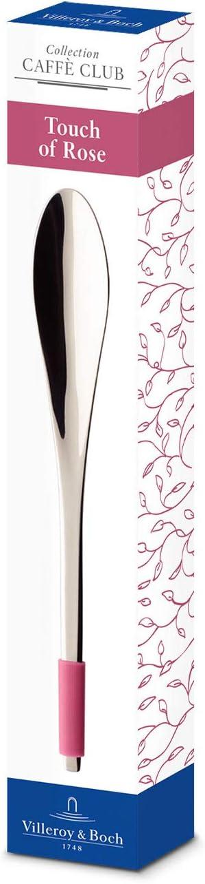 acero inoxidable 14,5 cm Villeroy /& Boch Caff/è Club Cucharilla Touch of Smoke mango recubierto de silicona gris