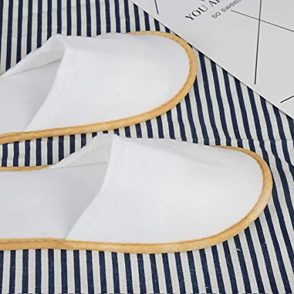 WUPYI2018 100 paia di pantofole per gli ospiti Hotelslipper Pantoffel Sauna Guest Slipper Hotel usa e getta