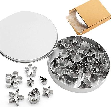 6 pièces emporte-pièce set outil en acier inoxydable pour biscuits gâteaux décoration
