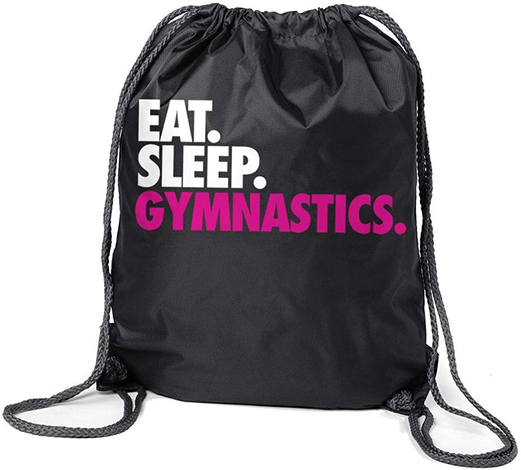 Gymnastics Sport Pack Cinch Sack | Eat Sleep Gymnastics
