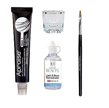 9a049b10d7f Apraise Eyelash and Eyebrow Tint, Black Number 1: Amazon.co.uk: Beauty